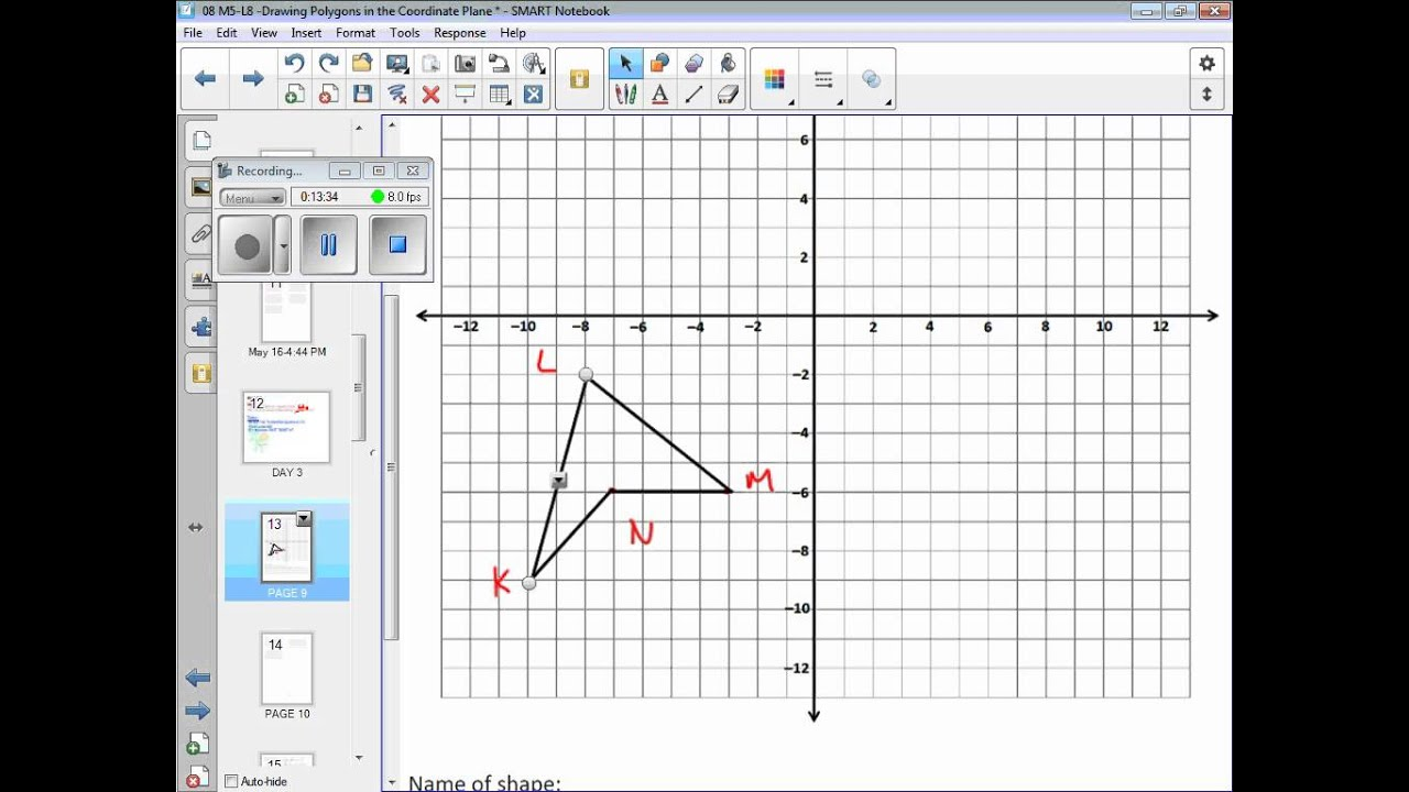 08 m5 l8 drawing polygons in the coordinate plane day 2 youtube nvjuhfo Image collections