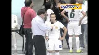 Microfutbol Femenino Torneo Postobon 2013 DeporTV