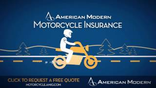 Replacement cost coverage for the life of your bike - American Modern Motorcycle Insurance