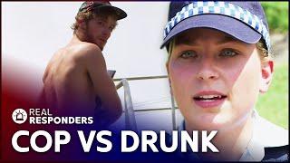 Beach Cops Respond To Motorcycle Crash  | Beach Cops | Real Responders