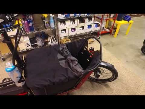 R&M Packster 40 Cargo eBike Review and Ride Test (with passenger)