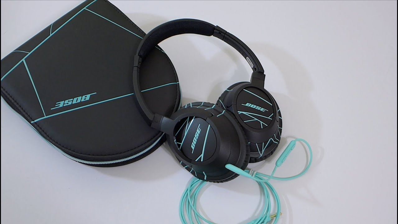 new bose soundtrue over ear headphones unboxing youtube