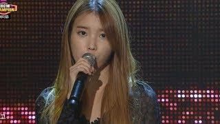 iu love of b 아이유 을의 연애 show champion 20131016