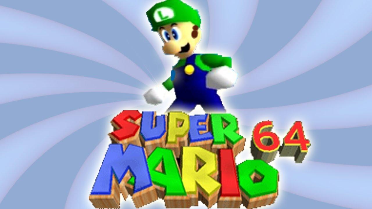 Luigi In Super Mario 64 Game Speculation