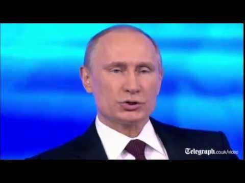Putin denies Russian