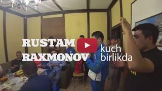 RUSTAM RAXMONOV & UZBEK TAYGERS KOMANDASINI SANKT-PETERBURGDA DACHADA DAM OLISHGANI