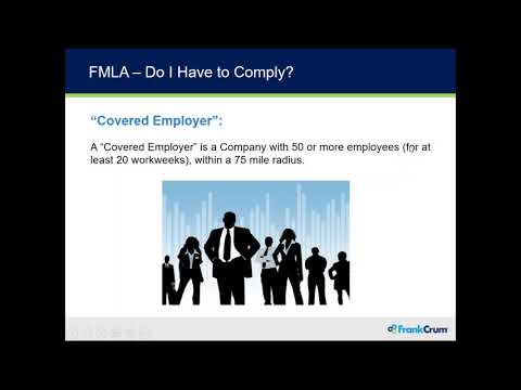 An Employer's Guide to the Family Medical Leave Act