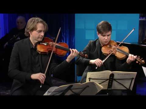 Berlin Staatskapelle String Quartet play Schubert's Quartettsatz for Strings in C Minor