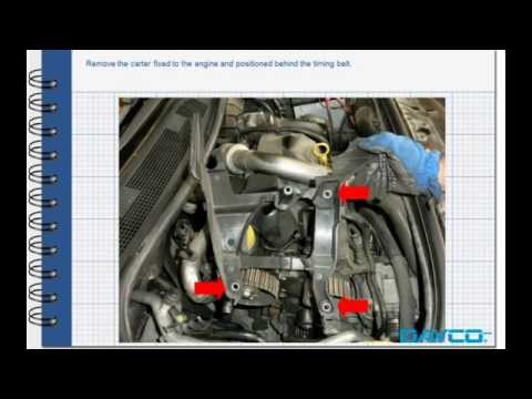 1 5 dci timing belt change  Your diagrams today