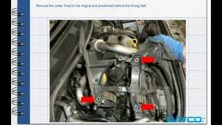 Timing kit installation Renault Megane II 1.5 dci - Engine: K9K 732
