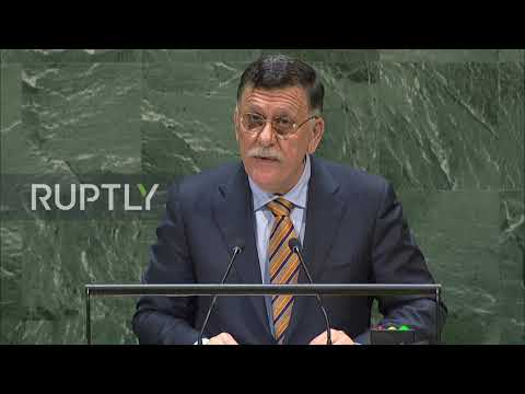 UN: Libya's Sarraj calls LNA's Haftar a 'war criminal'