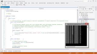 Видео курс C# Базовый. Урок 13. Потоки