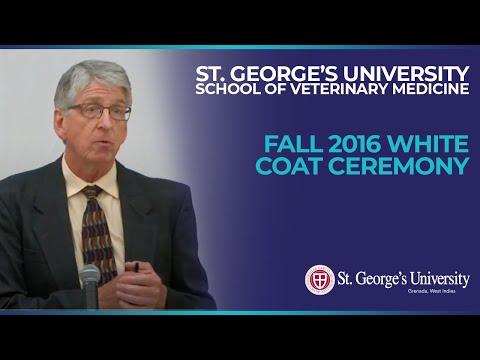 Fall 2016 School of Veterinary Medicine White Coat Ceremony
