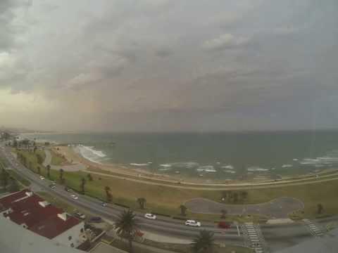 Port Elizabeth storm timelapse 20 Dec 2013