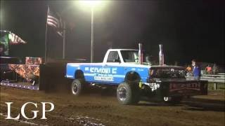 Pro Stock Four Wheel Drive Trucks At Huntland, TN (7/9/16)