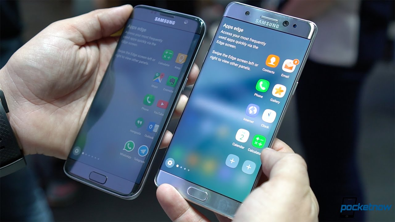 Note 7 edge vs s7 edge