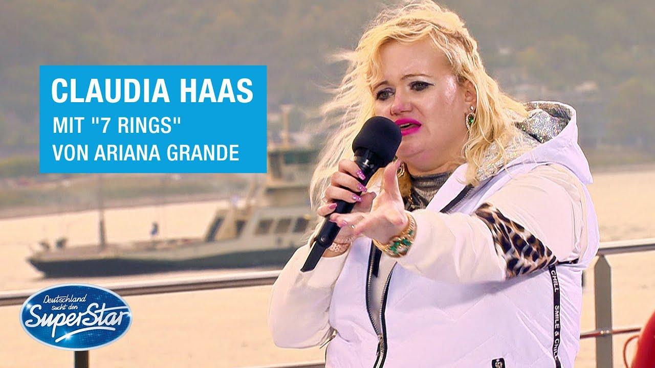 "Download Claudia Haas mit ""7 rings"" von Ariana Grande | DSDS 2021"