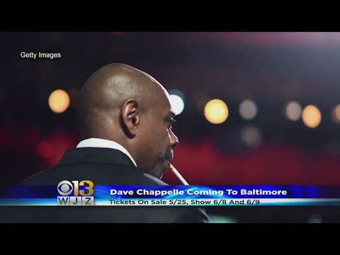 Comedian Dave Chappelle Set To Perform 2 Baltimore Shows In June