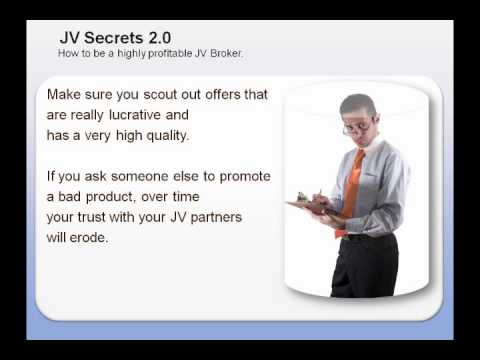 Joint Venture Profits - Video 8 of 8 - How To Be A JV Broker