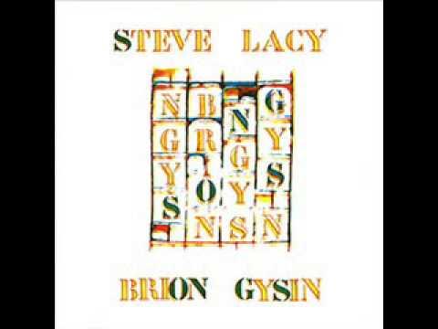 Steve Lacy / Brion Gysin - Blue Baboon (1981)