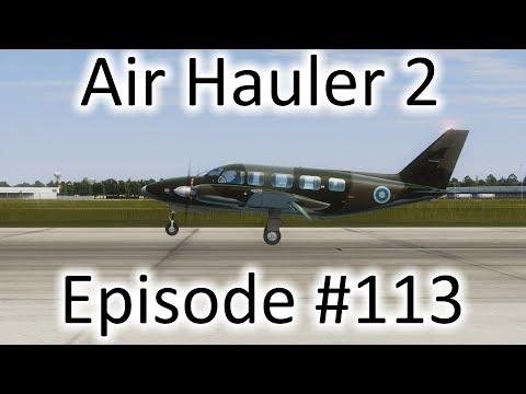 FSX | Air Hauler 2 Ep. #113 - Nassau to Jacksonville | PA-31-350