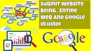 Learn Blogger SEO Tutorial in Hindi | Submit Website Being , Entire Web and google in Hindi