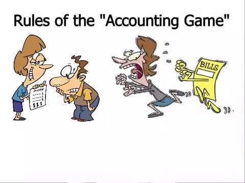 Accounting - Rules of the Accounting Game