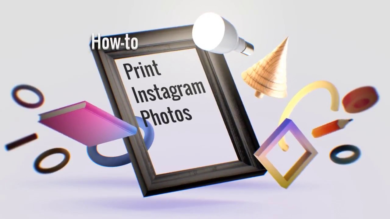 easy way to print photos from instagram
