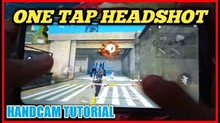 One tap headshot handcam tutorial. One tap headshot trick. Garena freefire