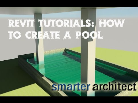 how to create a pool in revit