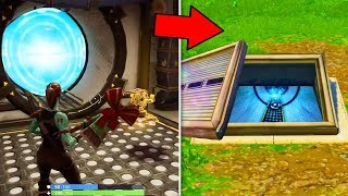 OMG I AM RENTRE IN THE NEW SECRET PORTAL OF BUNKER Wailing Woods - Fortnite Battle Royale!