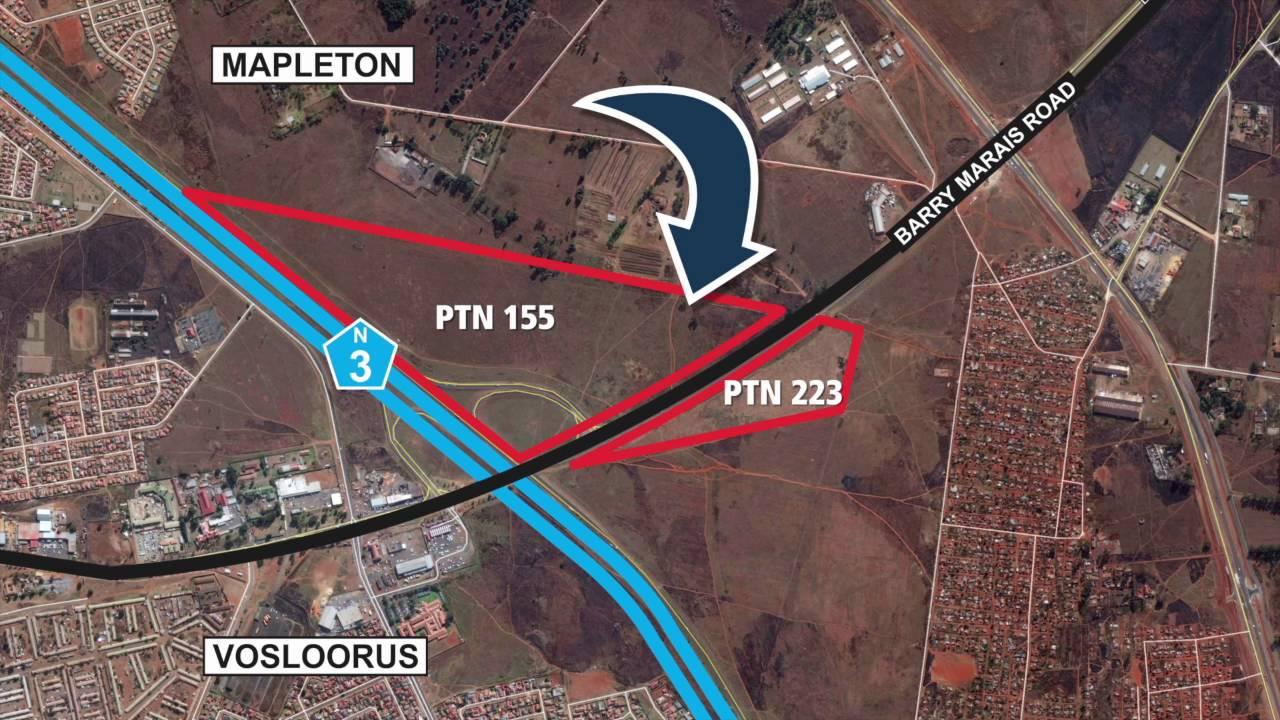 Barry Marais Road Boksburg Vosloorus YouTube - Vosloorus map