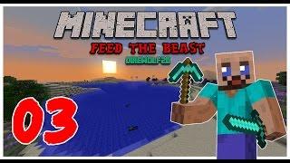 Minecraft: FTB Pack - 03 - Удваиваем Ресурсы!(Здравствуйте, меня зовут Славик, и я Одессит. Это ознакомительное