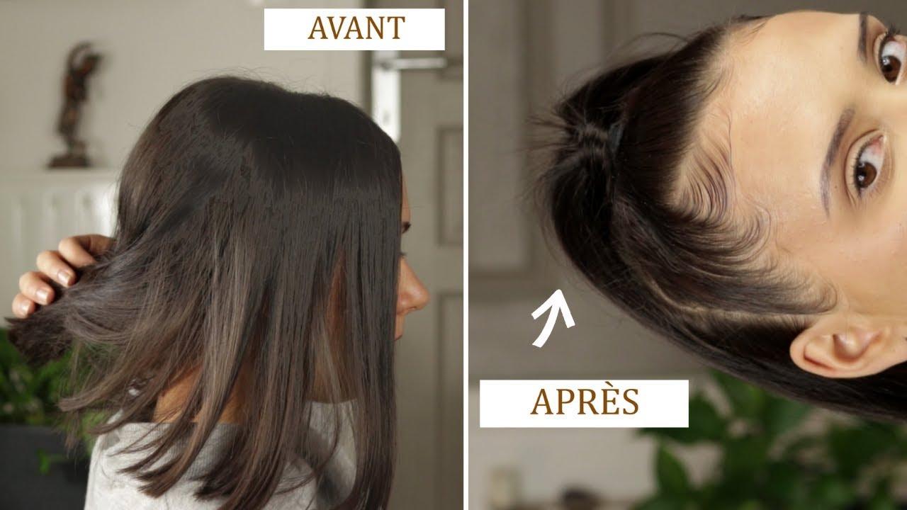 Teindre les cheveux du cafГ© avant et aprГЁs