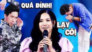 Thuỳ Chi hát live SIẾU ĐỈNH khiến Trấn Thành, Trường Giang RỤNG RỜI