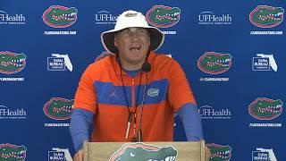 Florida Football: Dan Mullen Press Conference 7-29-19