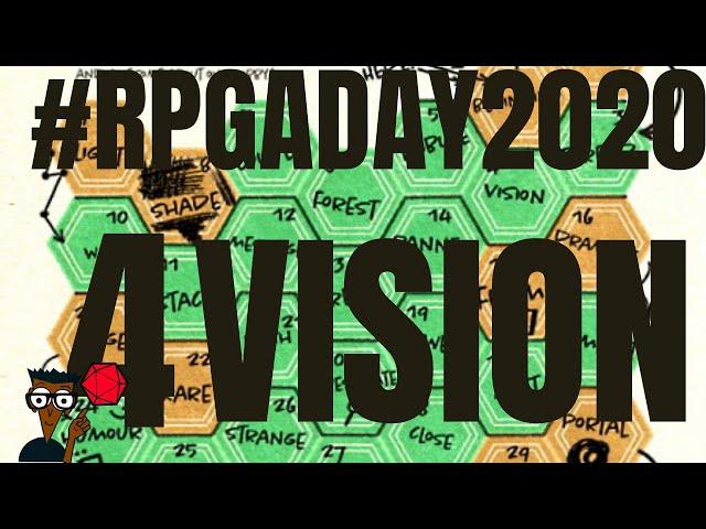 #RPGaDay2020 jour 4: Partager LA vision de SON jeu