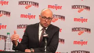 Jeff Blashill on Red Wings' expectations for next season