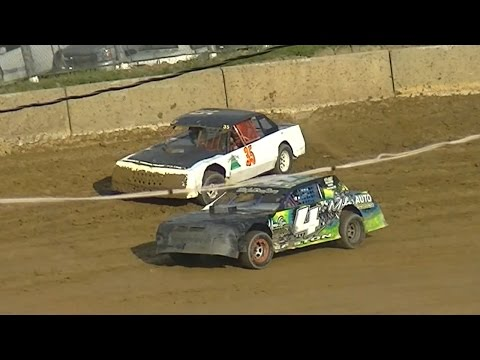Pure Stock Heat One | Old Bradford Speedway | 8-28-16
