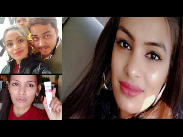 GRWM- Soft &Glowy Makeup For Day Shopping /Priya Deep Vlog Shopping With Hubby