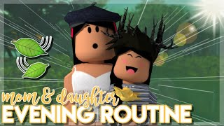 Mommy and Daughter Evening Routine! | Roblox Bloxburg Roleplay