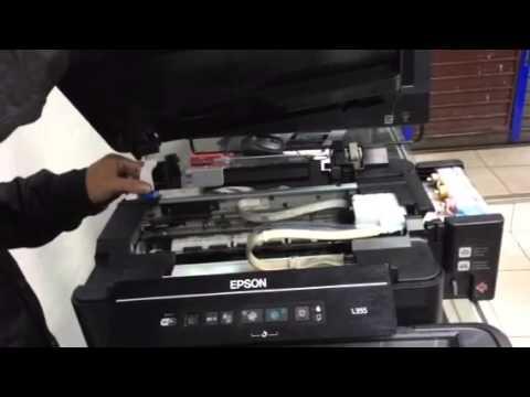 Soluci 243 N Epson L355 Luces Parpadean Youtube