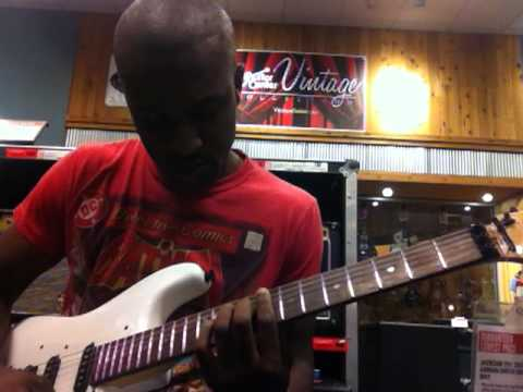 Brooks Anderson (@BNAmusic88) at Guitar Center in Rockville, MD Playing