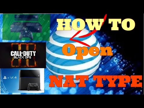 2016) HOW TO *OPEN* YOUR NAT TYPE FOR AT&T NETWORK AND BO3