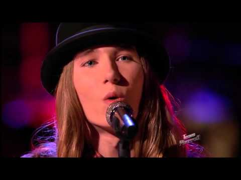 The Voice 2015 Sawyer Fredericks Live Playoffs Trouble