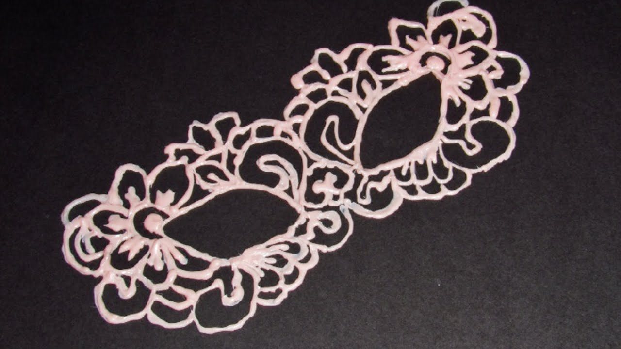 Make A Beautiful Delicate Faux Lace Mask Style Guidecentral