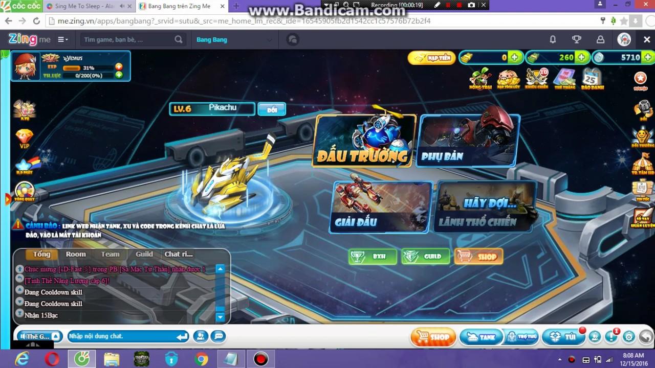 cho acc bang bang free