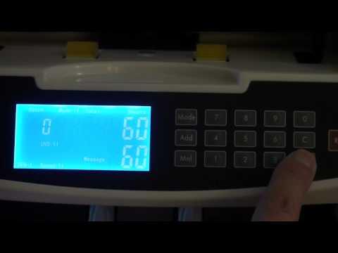 Ezycount NC602 Mixed Denomination Value Note Counter - Australian Model [HD]