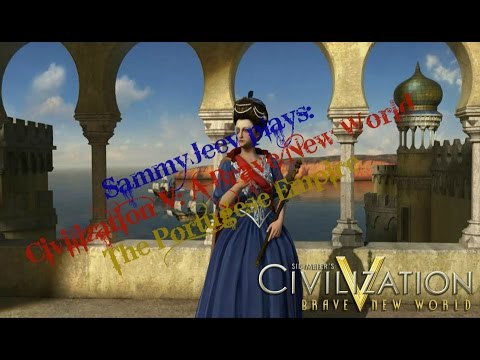Civilization V: Part 5 (The End?) -  King difficulty Portuguese Empire, Maria 1