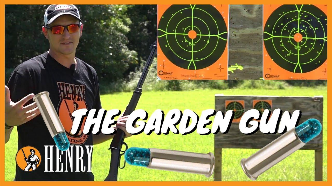 The Henry Garden Gun A Smoothbore 22 Youtube